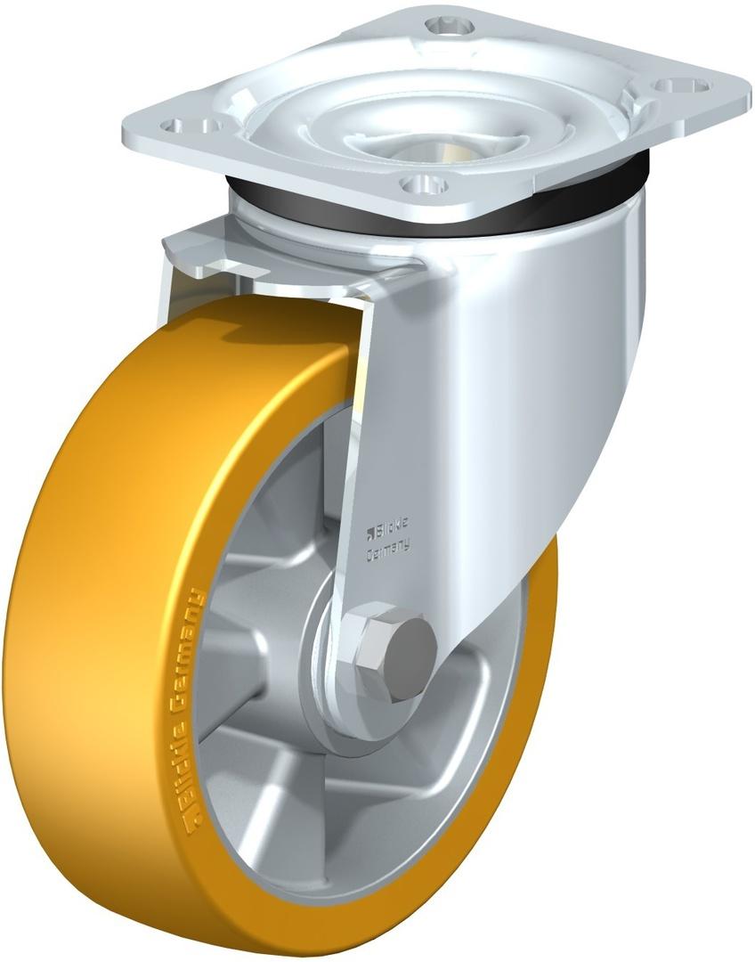 Swivel 125mm Urethane Castor - LKAU125/P image 0