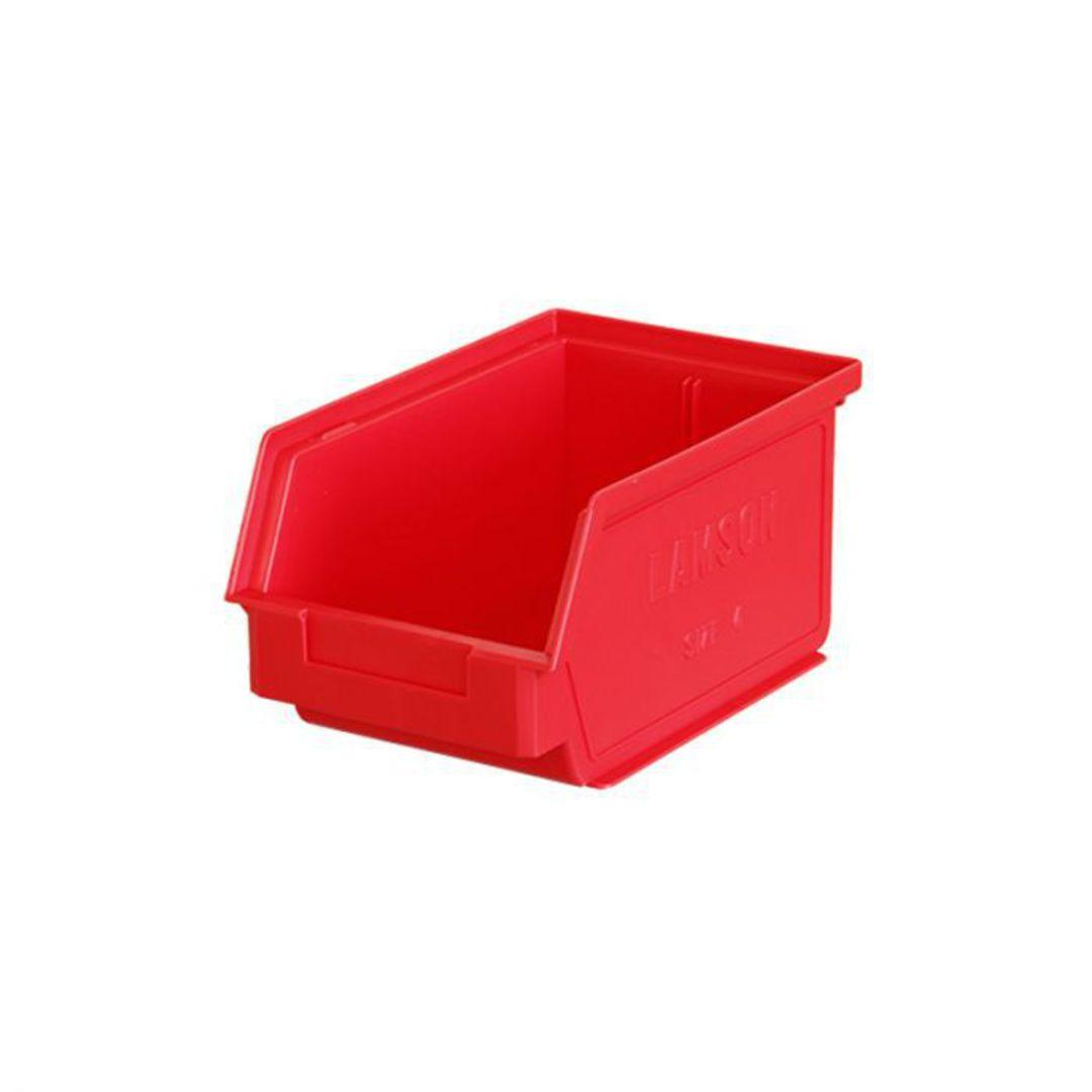 Storage Bin - Size 4 - 4-BIN-RED image 0