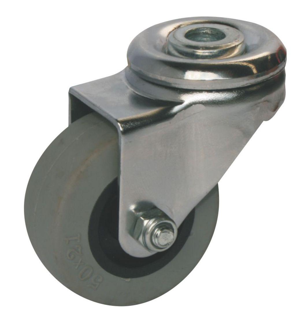 Swivel 50mm Urethane Castor - WLU50/H image 0