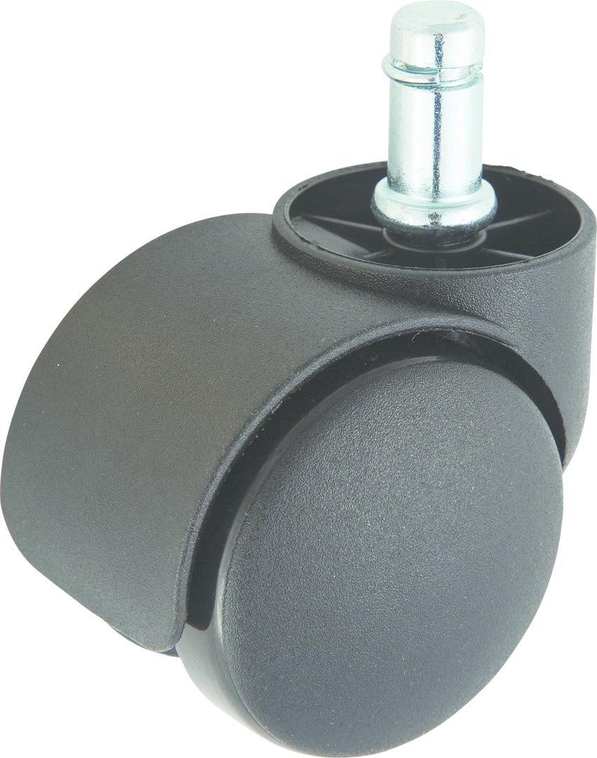 Twin Wheel Castor 50mm - Stem & Circlip - TW50-C11 image 0