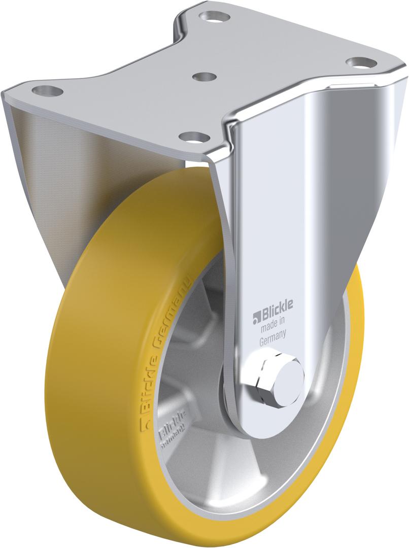 Fixed 150mm Urethane Castor - MXAU150/F image 0