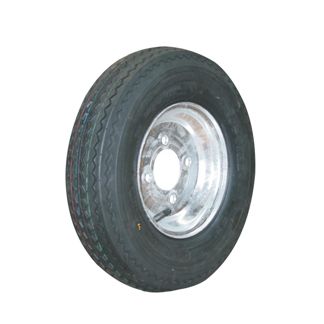 Pneumatic Wheel - Steel Rim - 480/400x8 Road 6ply - MW200-400R6 image 0