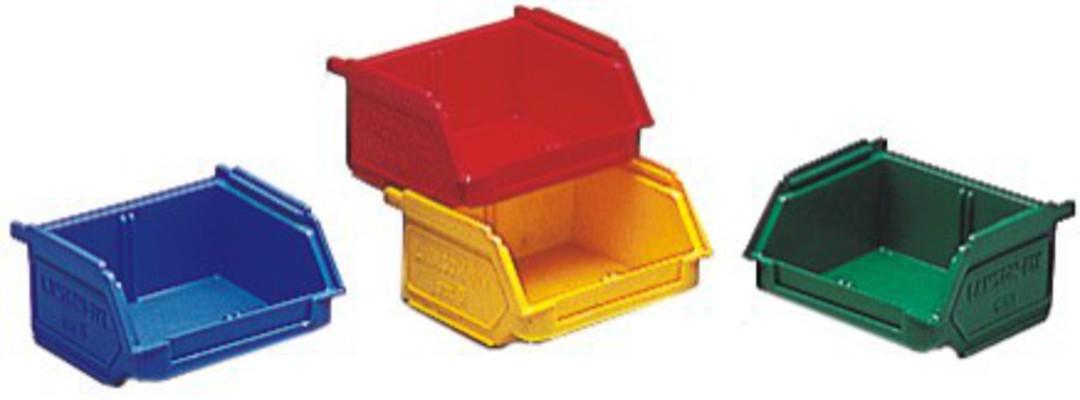 Storage Bin - Size 6 - 6-BIN-YELLOW image 0