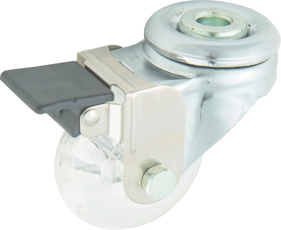 Swivel & Brake 50mm Urethane Castor - WLPU50/H-B image 0