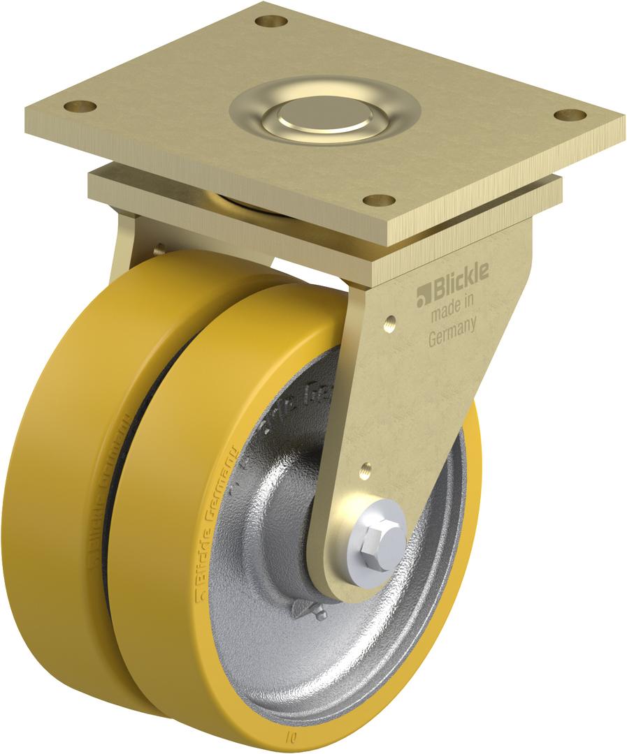 Swivel Extra Heavy Duty Castor - 250mm Urethane -2700KG-MZU250/P image 0