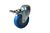 Click to swap image: 01438-100mm-32mm-Blue Rubber-100kg-Ball Bearing-134mm-Total Braked-105mm-12mm