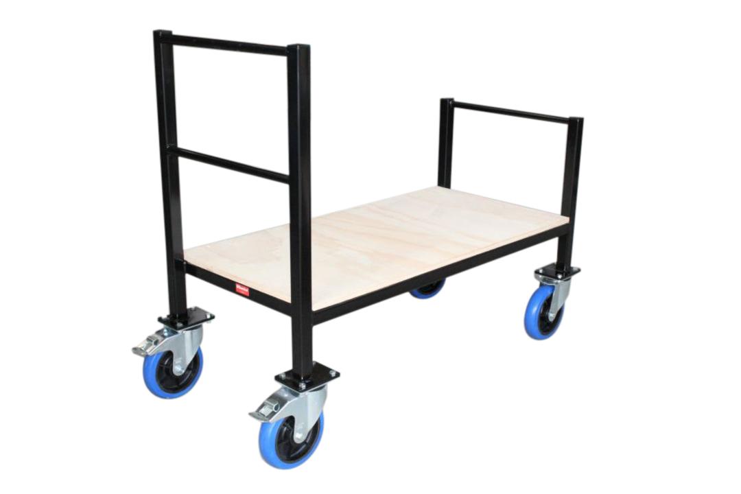 Heavy Duty Stock Handling Trolley-Plywood Base- ST1260 image 0