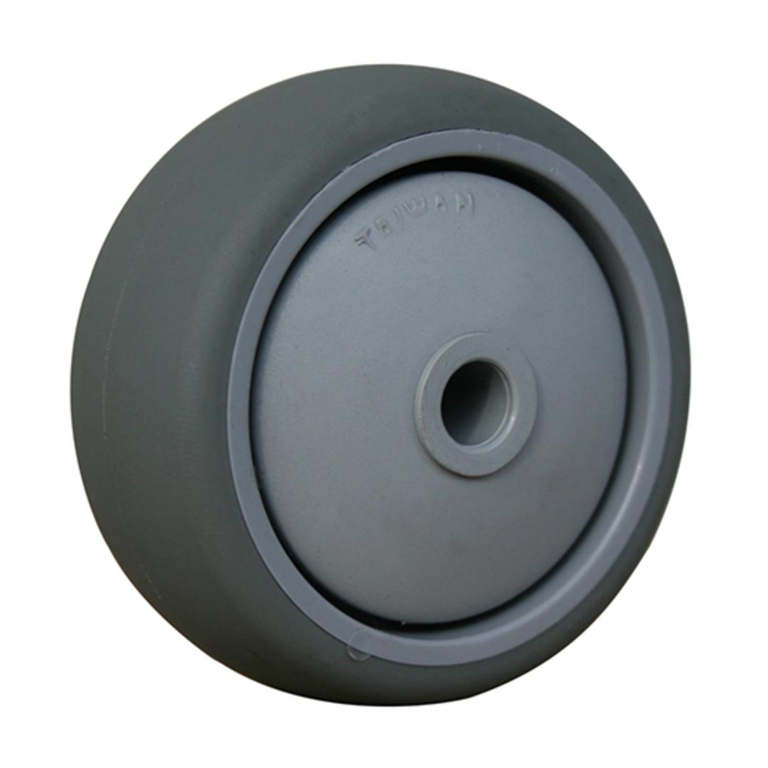 Grey Rubber Wheel 65mm - WLR65 image 0
