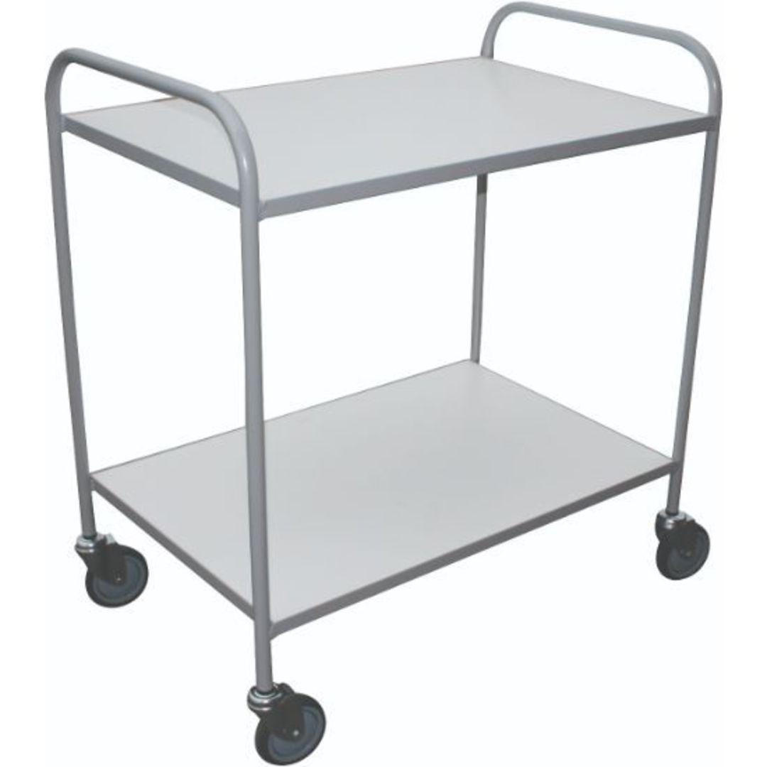 Meltecca Shelf Trolleys - Two Tier - TT2 image 0