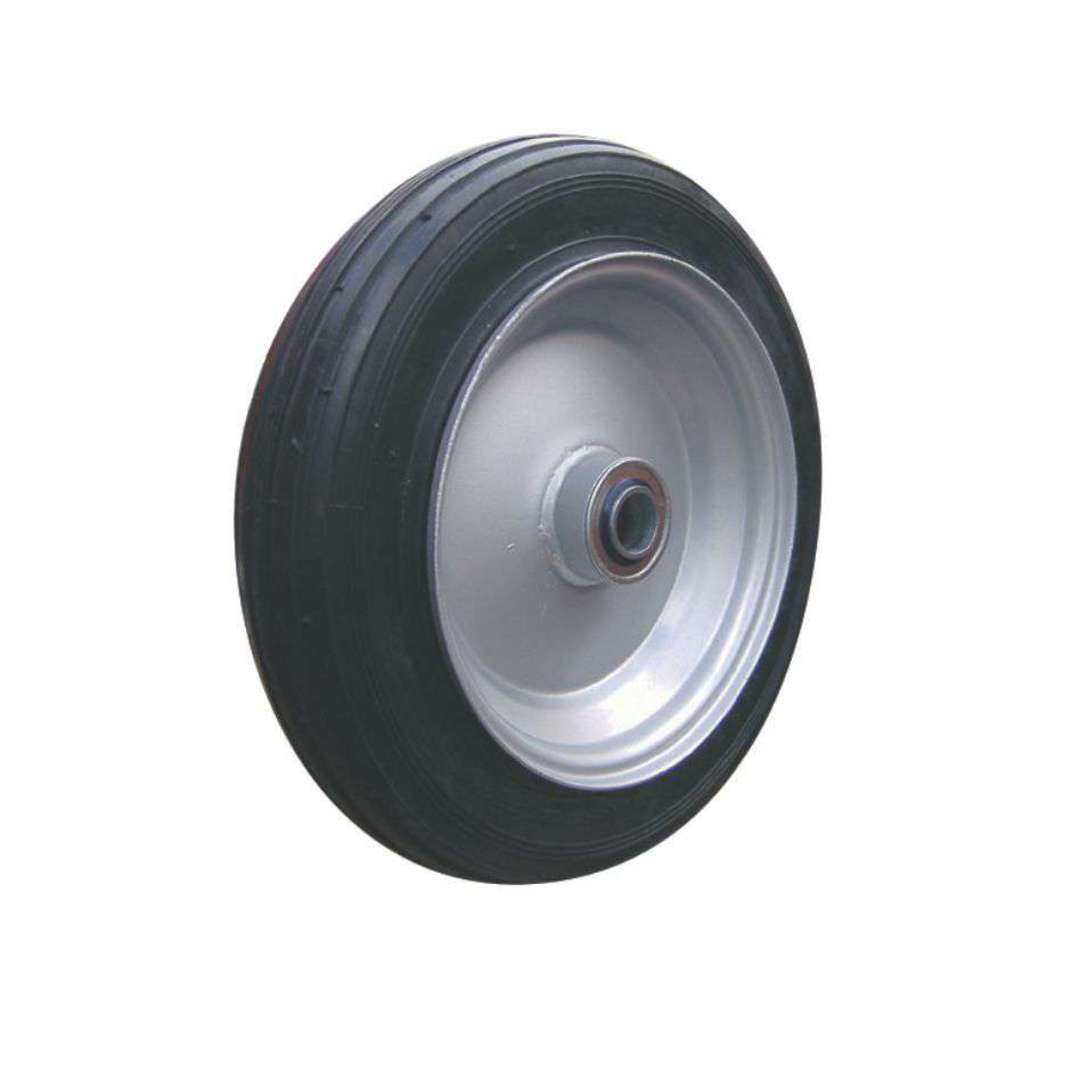 Solid Rubber Wheel 325mm - Steel Rim - BWSR3008 image 0