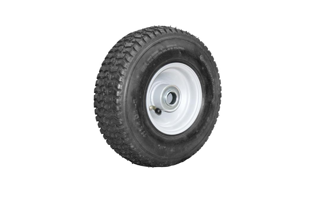 Pneumatic Wheel - Steel Rim - 11/400x5 Turf - BW125-114T image 0