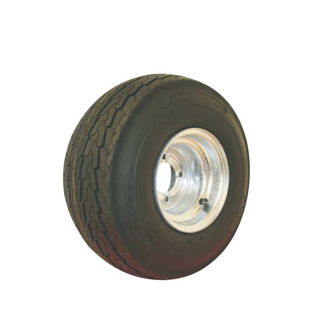Pneumatic Wheel - Steel Rim - 16.5/605x8 Road 6ply - MWX200-165R image 0
