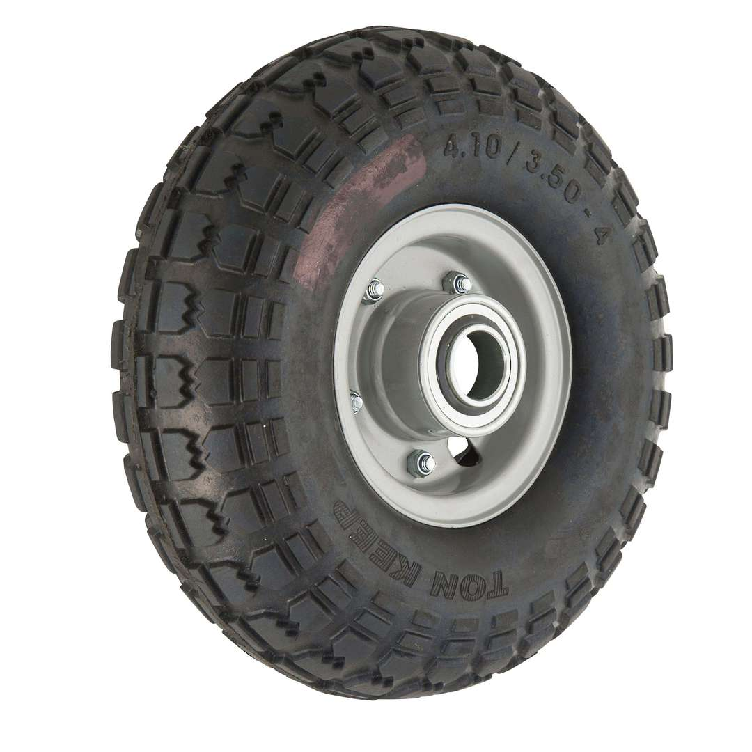 Solid Rubber Wheel 268mm - Steel Split Rim - FBSR3504 image 0