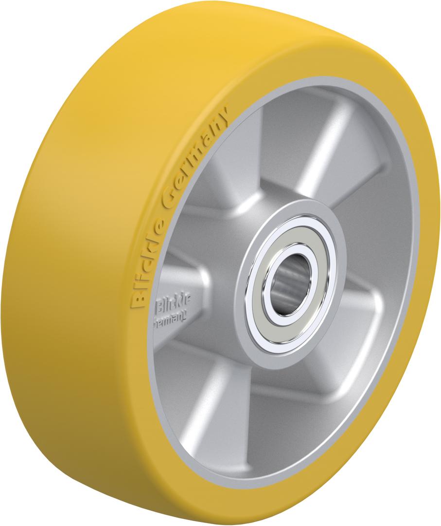Urethane Wheel 125mm - Aluminium Centre - MAU125 image 0