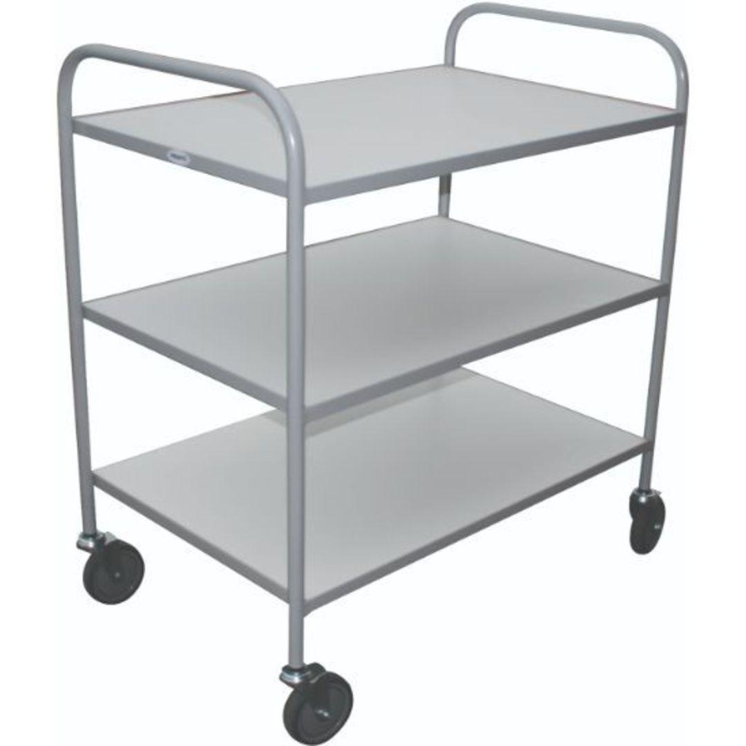 Meltecca Shelf Trolleys - Three Tier - TT3 image 0