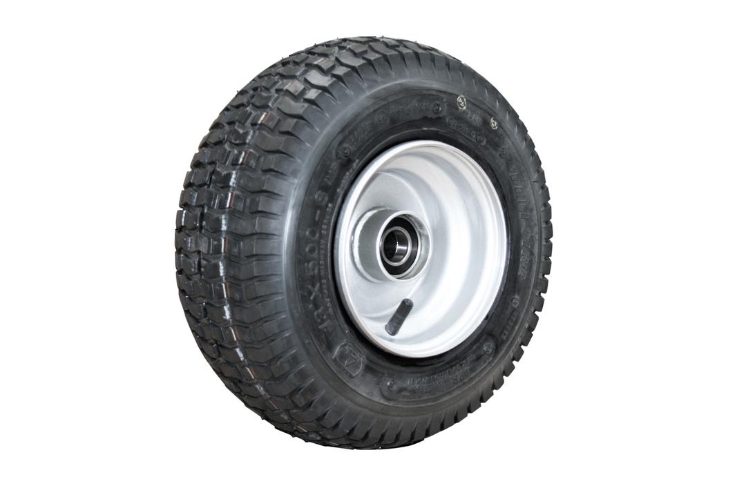 Pneumatic Wheel - Steel Rim - 13/500x6 Turf - RWW150-135T image 0