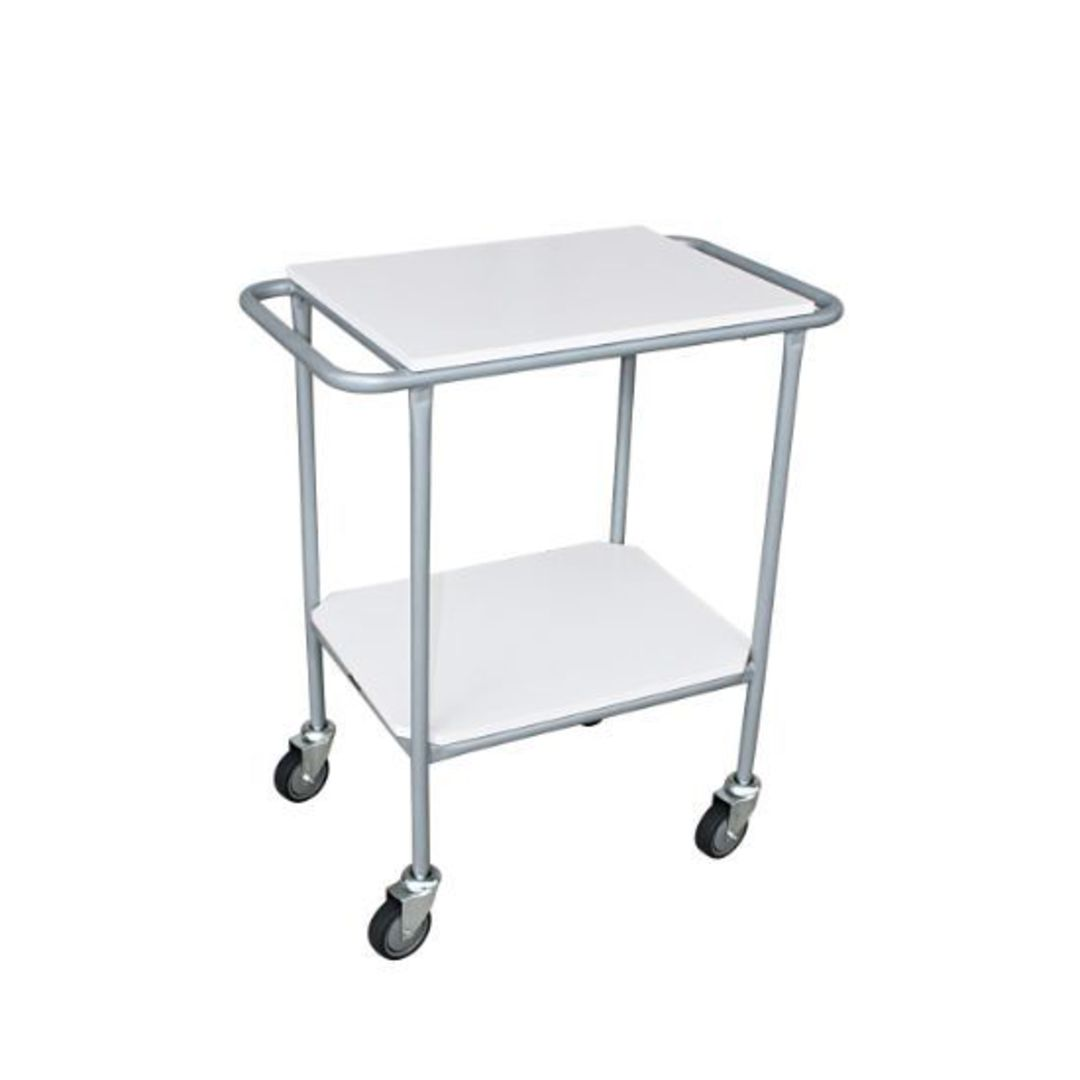 Two Tier Shelf Trolley - BC47-2T image 0
