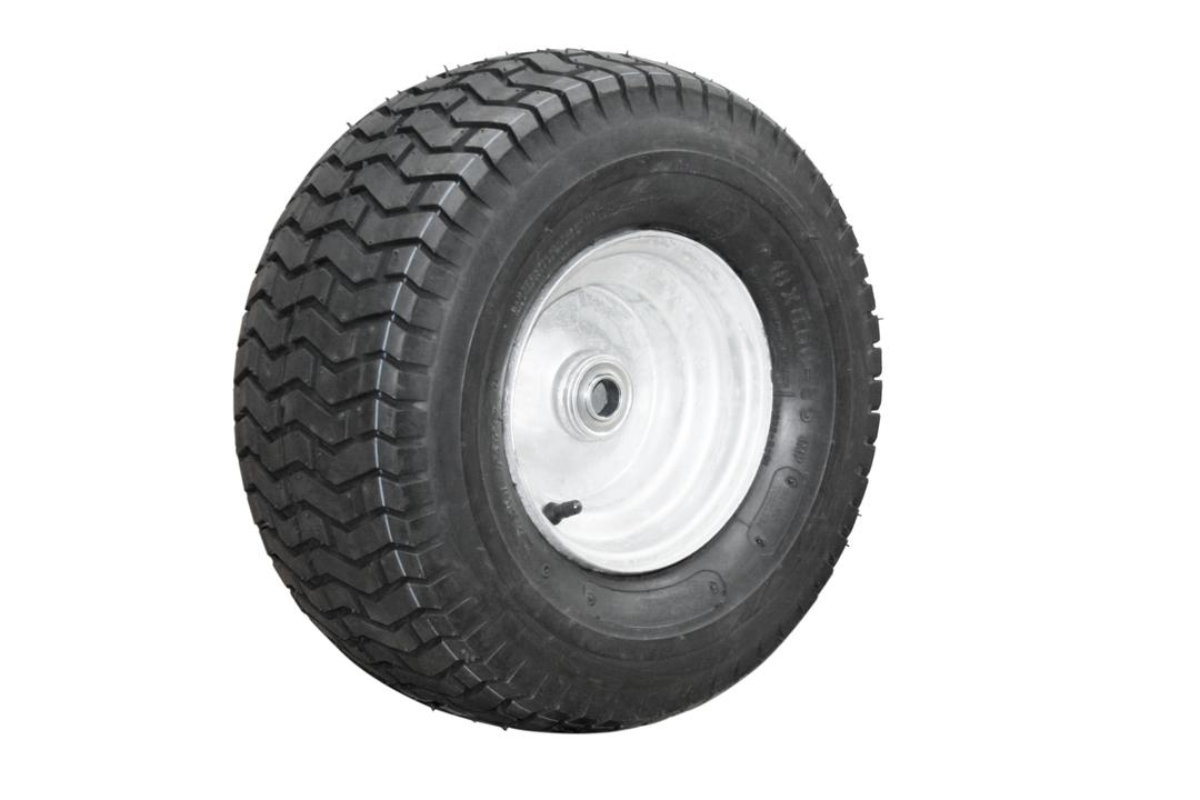 Pneumatic Wheel - Steel Rim - 16/650x8 Turf - BWX200-166T image 0