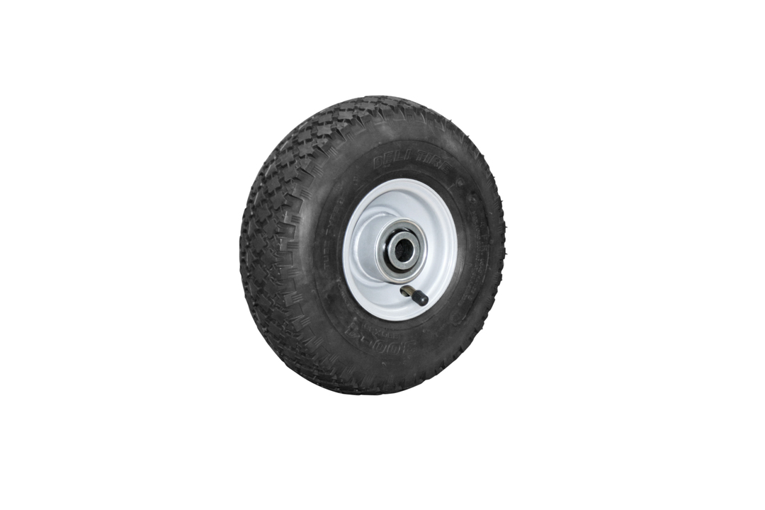 Pneumatic Wheel - Steel Rim - 300x4 Diamond - BW100-300D image 0
