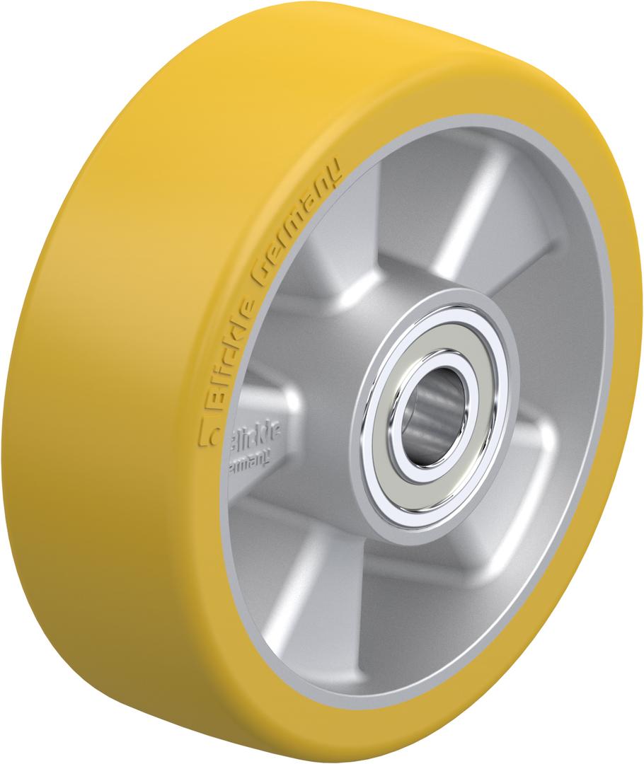 Urethane Wheel 150mm - Aluminium Centre - MAU150 image 0