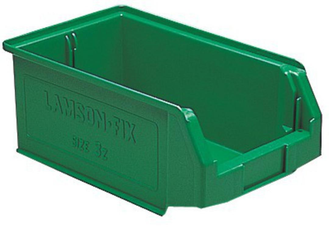 Storage Bin - Size 3Z - 3Z-BIN-GREEN image 0