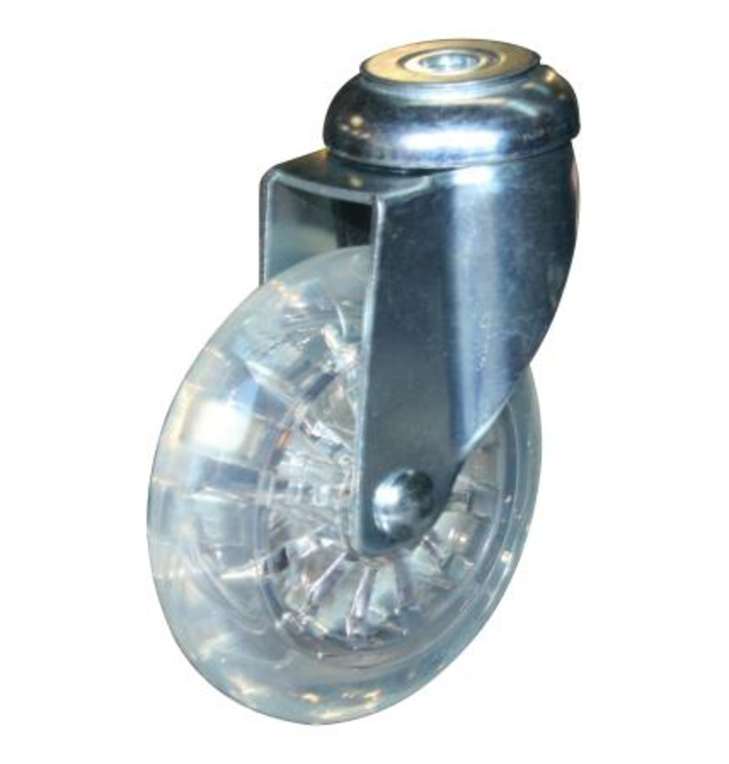 Swivel 75mm Urethane Castor - WLPU75/H image 0