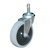 Click to swap image: 01430-100-Urethane-50kg-120-Stem and Circlip 11mm-Cleaning cart / trolley castor