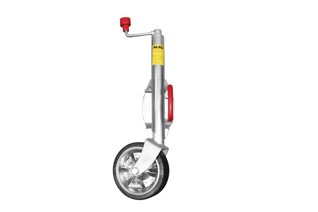 Jockey Wheel - Bolt On Swivel Bracket - JW4-2H image 0