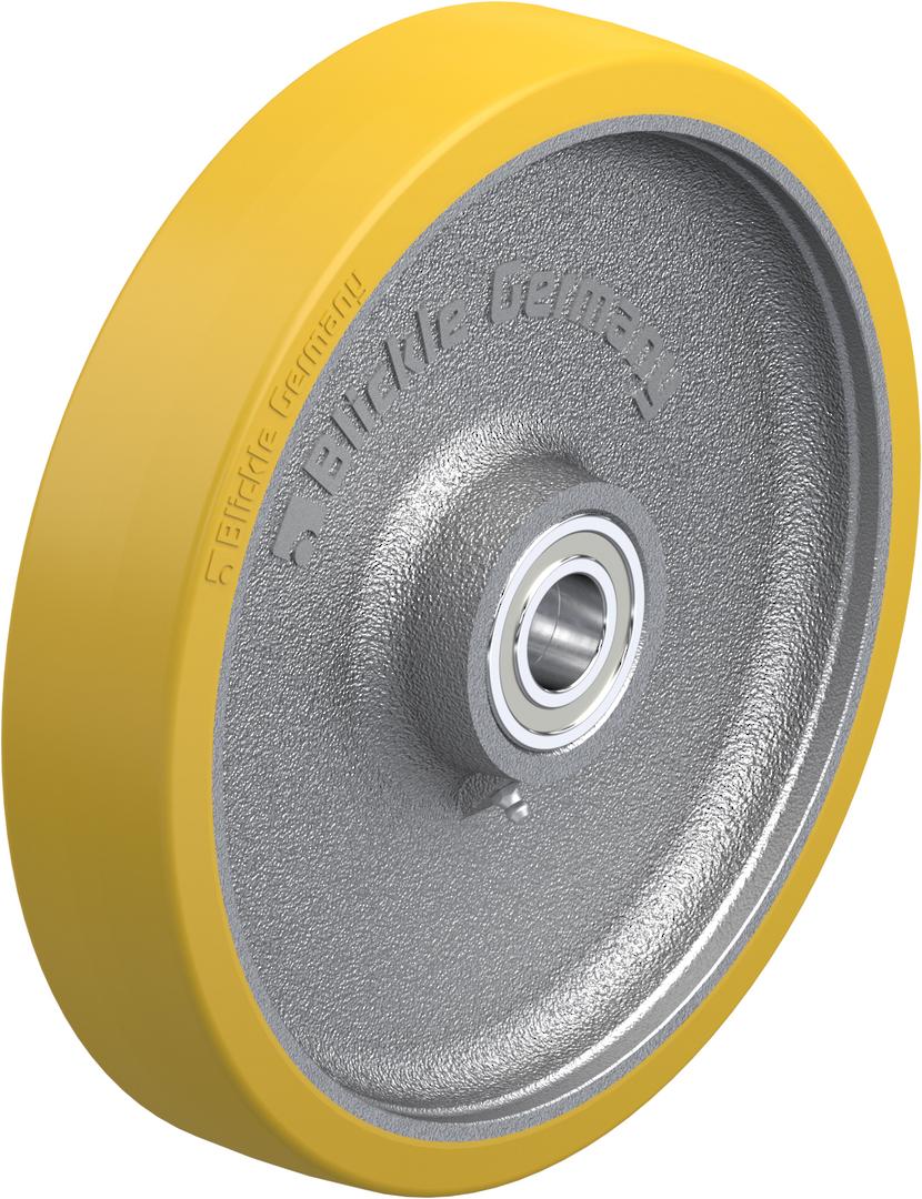 Urethane Wheel 300mm - Cast Iron Centre - MXU300 image 0