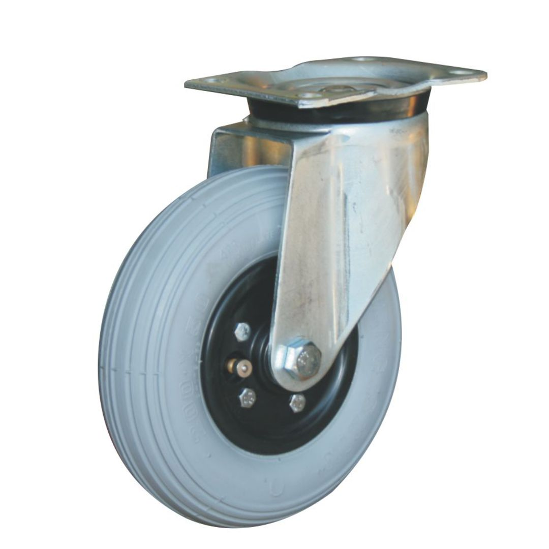 Swivel 200mm Pneumatic Castor - MHP200/P image 0