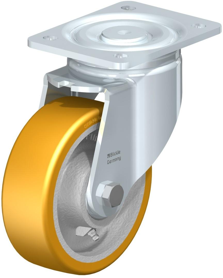 Swivel 150mm Heavy Duty Urethane Castor - MXU150/P image 0