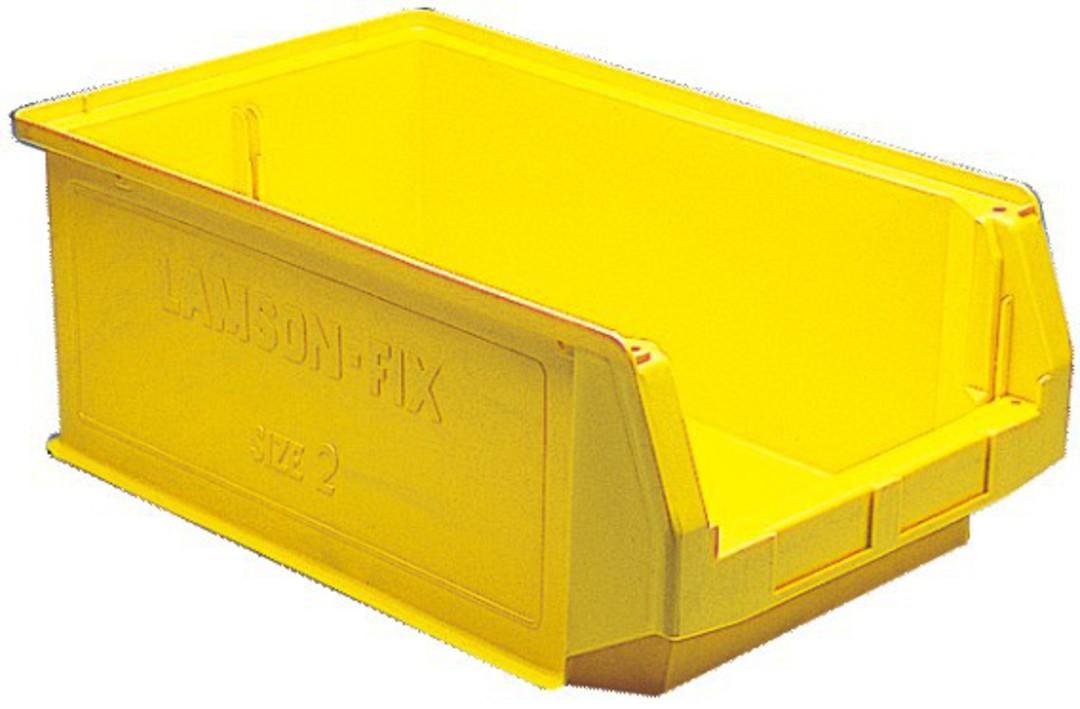 Storage Bin - Size 2 - YELLOW image 0