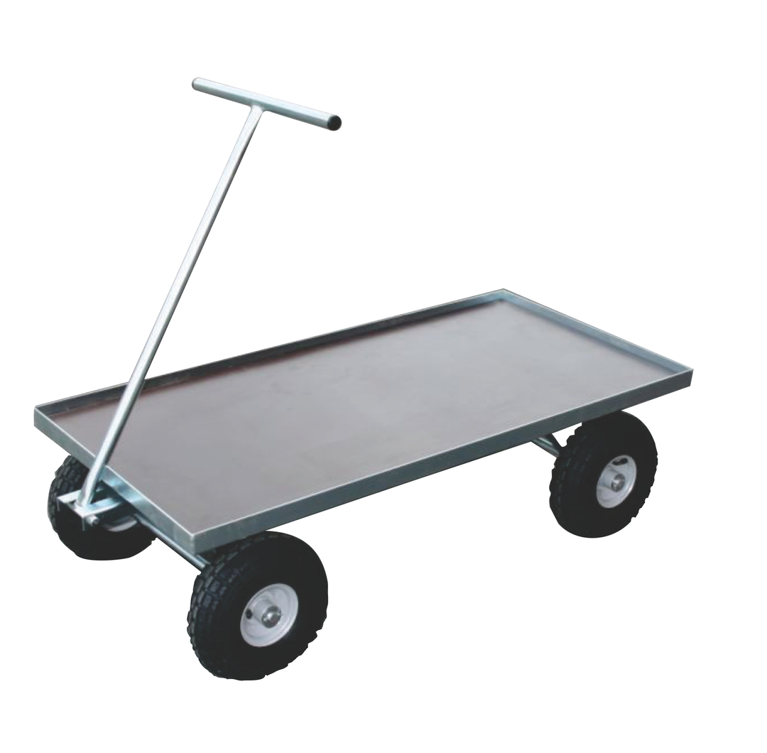 Heavy Duty Flat Deck Trolleys - FDP1260 image 0