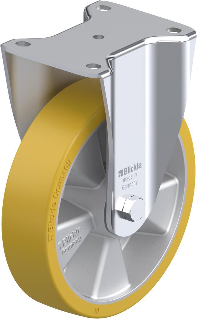 Fixed 200mm Urethane Castor - MXAU200/F image 0