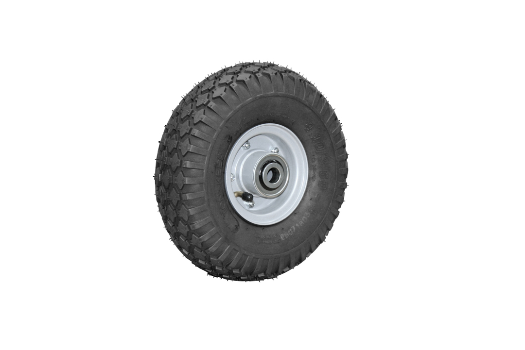 Pneumatic Wheel - Steel Rim - 410/350x4 Diamond - FBSR100-410D image 0