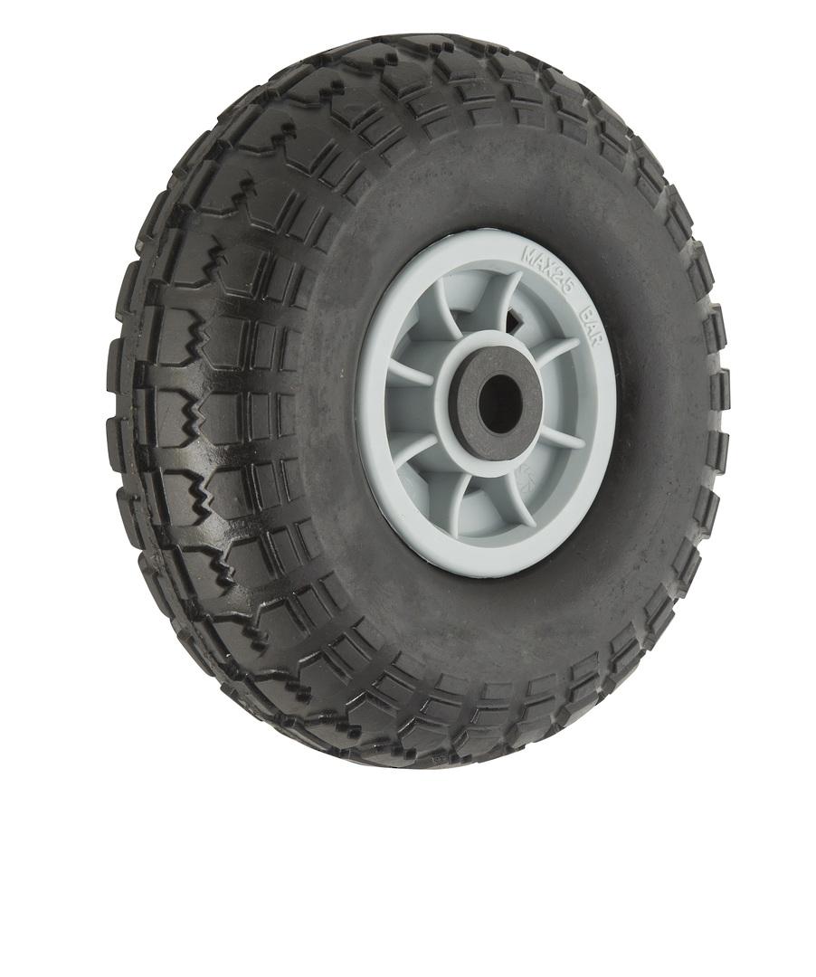 Solid Rubber Wheel 268mm - Plastic Rim - PSR3504 image 0