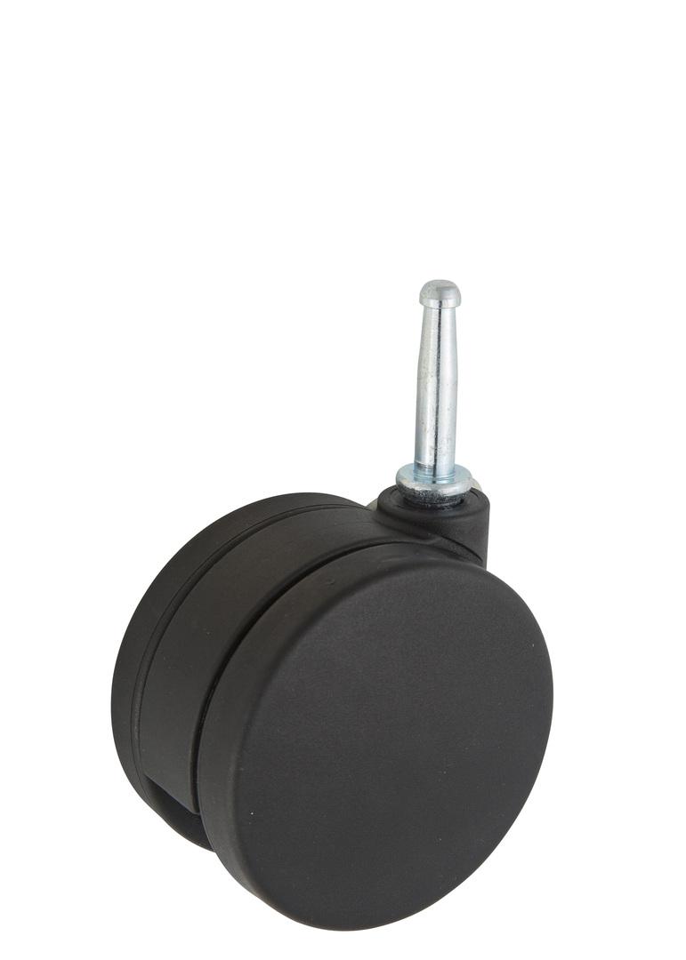 Twin Wheel Castor 75mm - Stem Fitting - TW75-S image 0