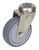 Click to swap image: 01442-80mm-32mm-Grey Rubber-100kg-Ball-108mm-Swivel-80mm-12mm