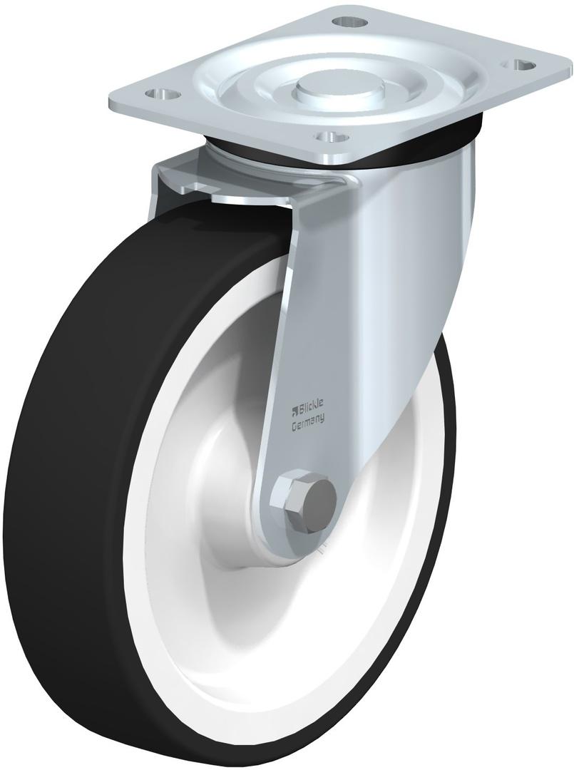 Swivel 200mm Urethane Castor - BHU200/P image 0