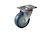 Click to swap image: 01465-100mm-32mm-Rubber-120kg-Ball Bearing-125mm-Swivel-88mm-105mm x 80mm-80mm x 60mm