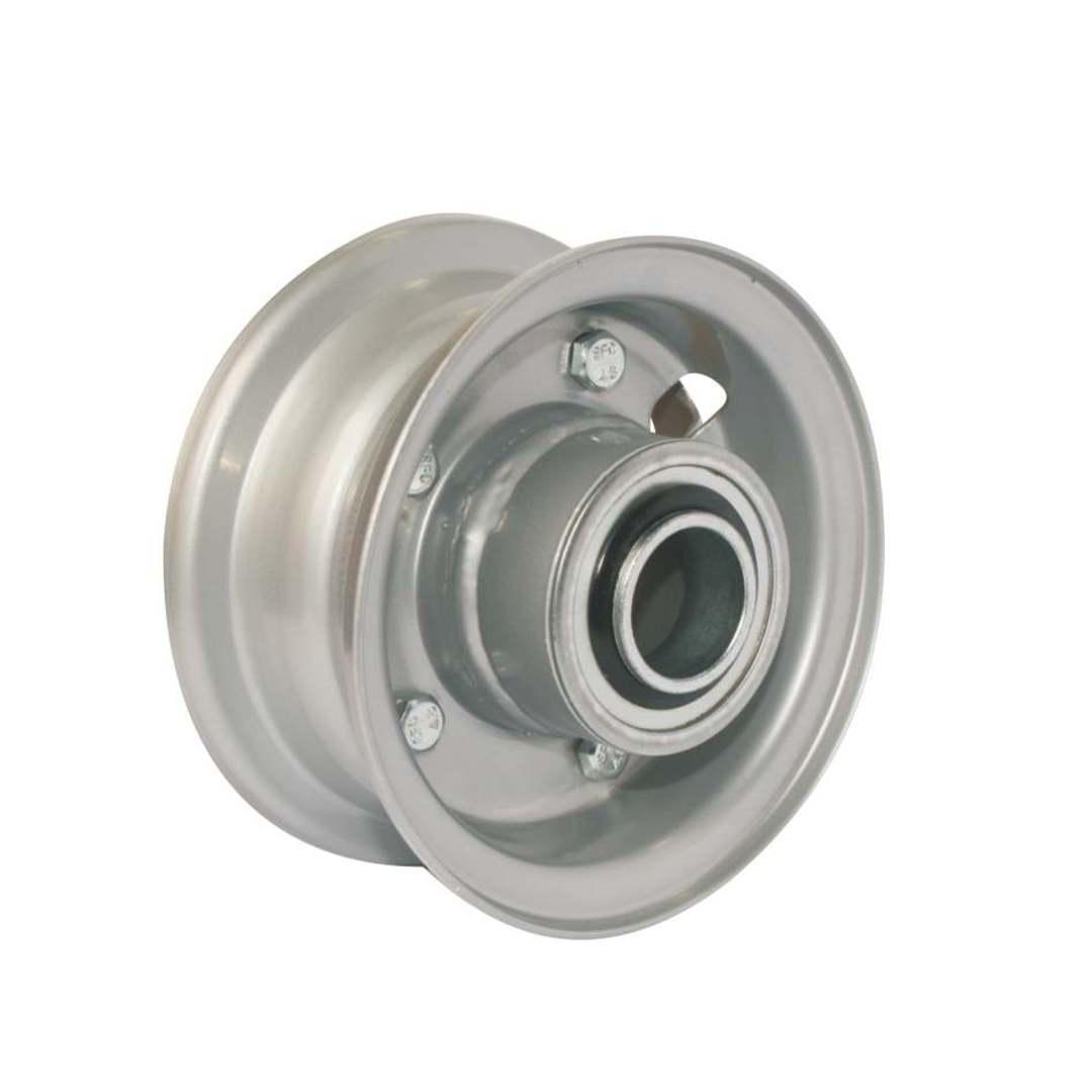 Steel Rim - 4 Inch - Split Rim - Low Speed Bearings - FBSR100 image 0