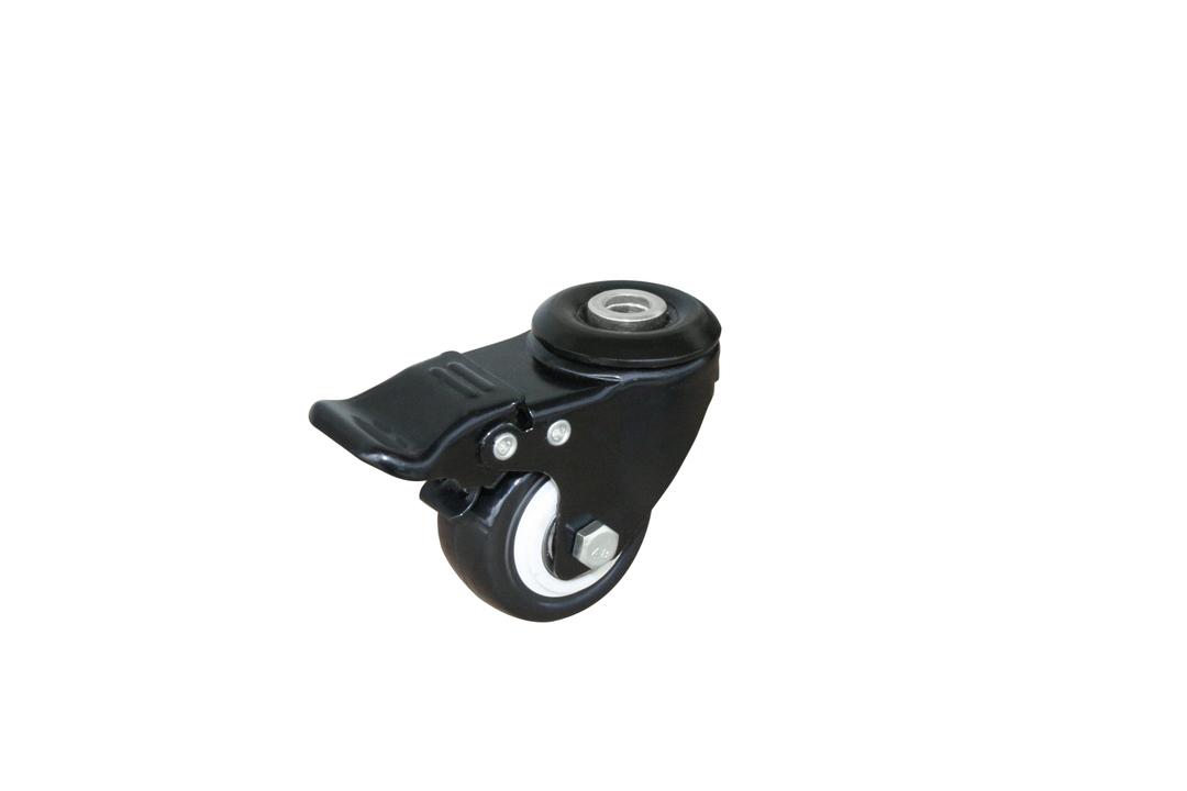 Swivel & Brake 50mm Urethane Castor - ALU50/H-B image 0