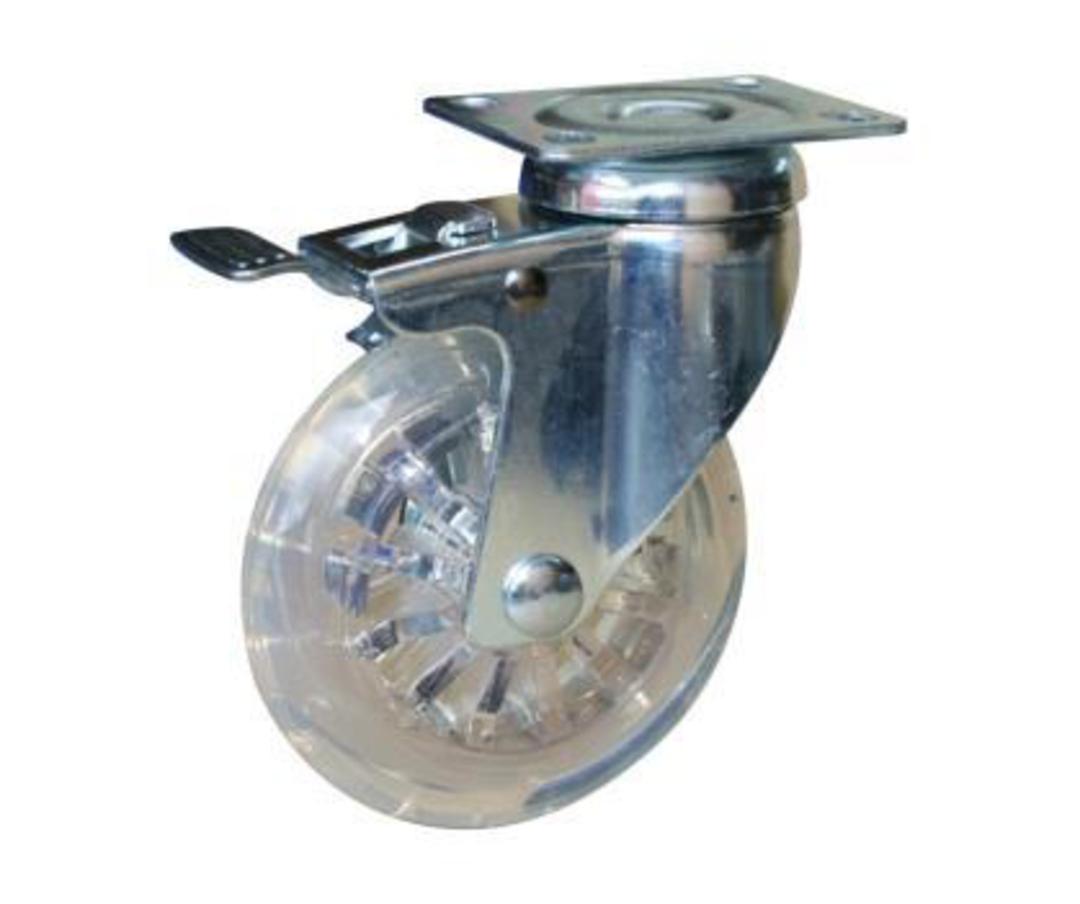 Swivel & Brake 75mm Urethane Castor - WLPU75/P-TB image 0