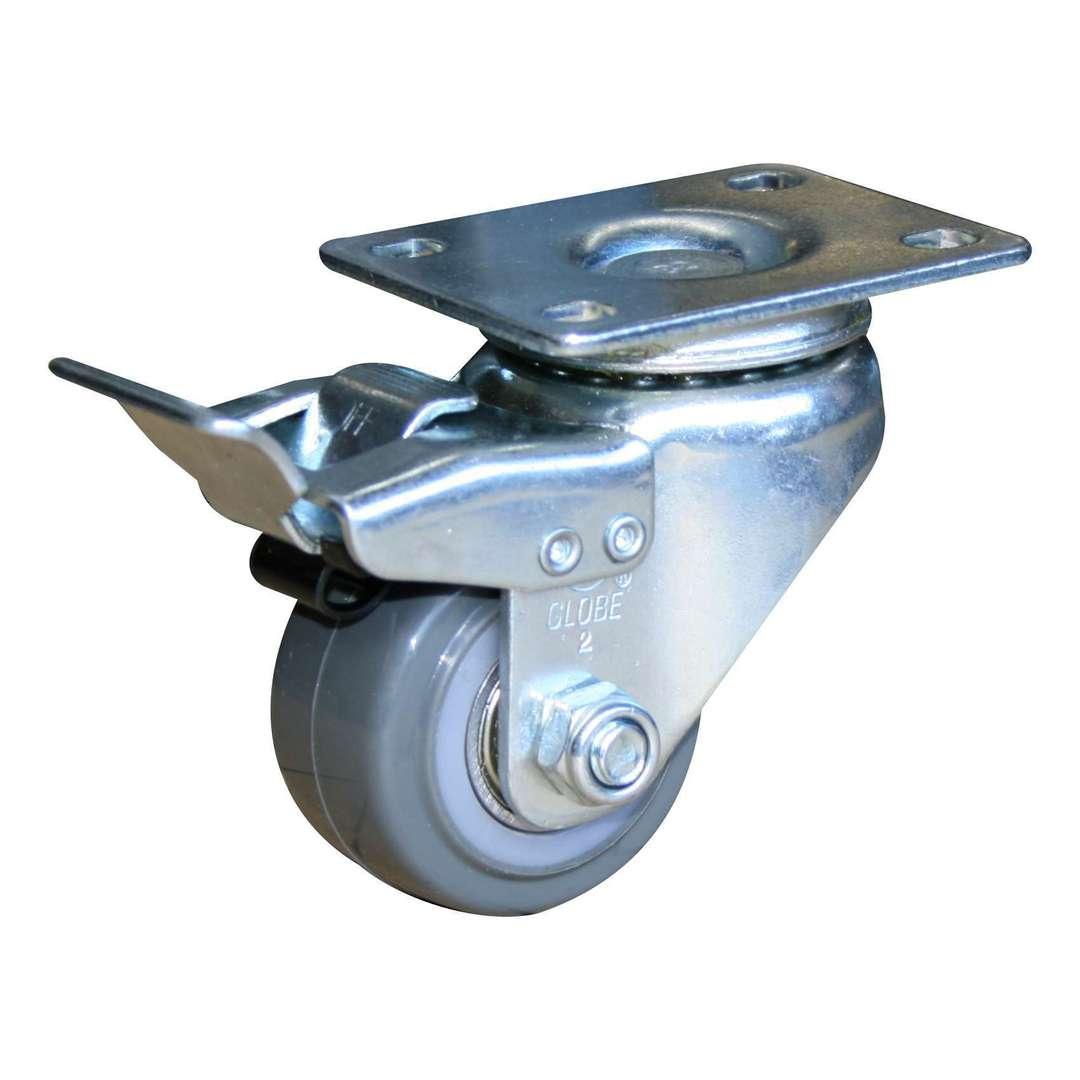 Swivel & Total Brake 50mm Urethane Castor - LRU50/P-TB image 0