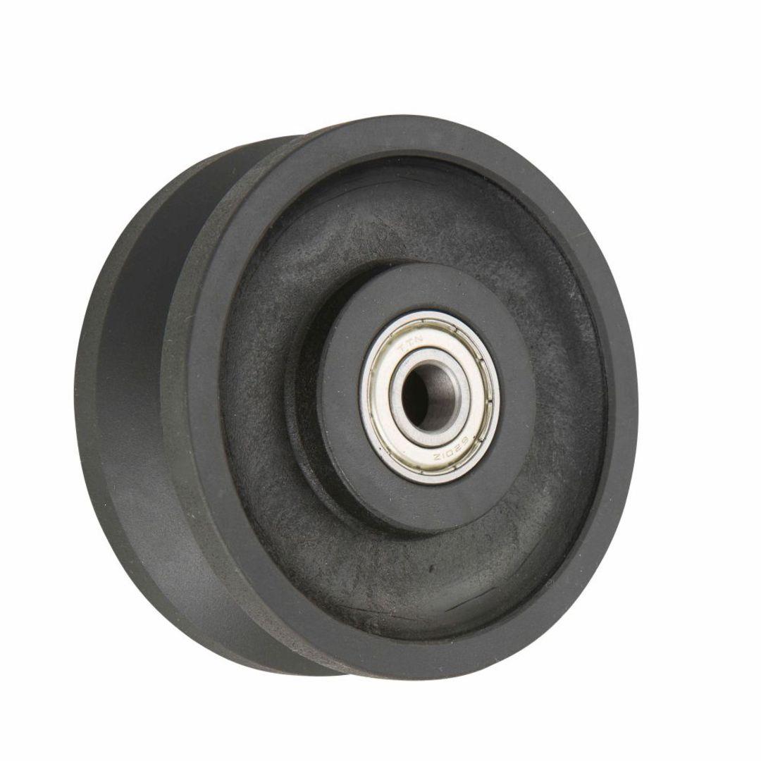 V-Groove Wheel 100mm -Nylon - N100V-SB image 0