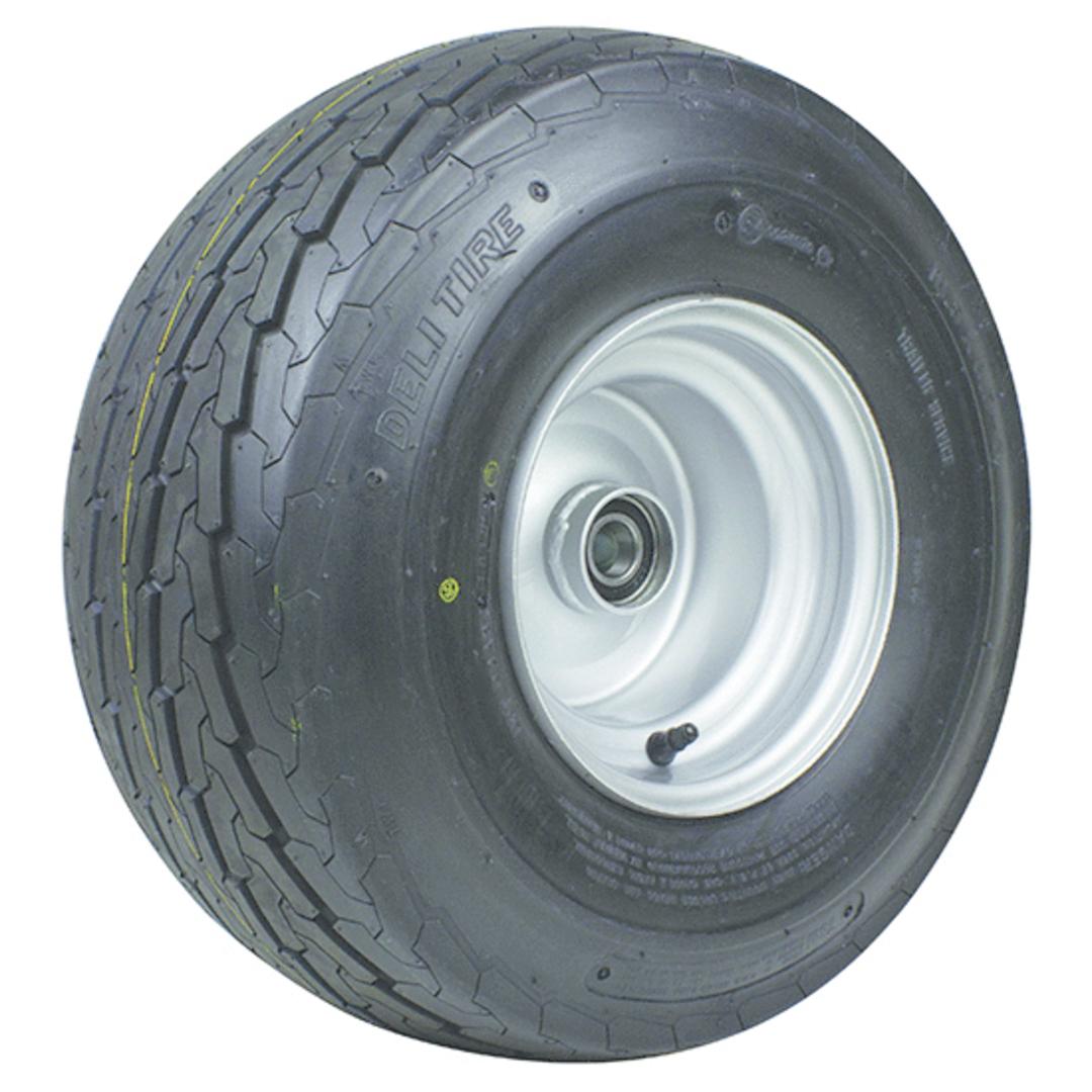 Pneumatic Wheel - Steel Rim - 16.5/6.5x8 Road - RWX200-165R image 0
