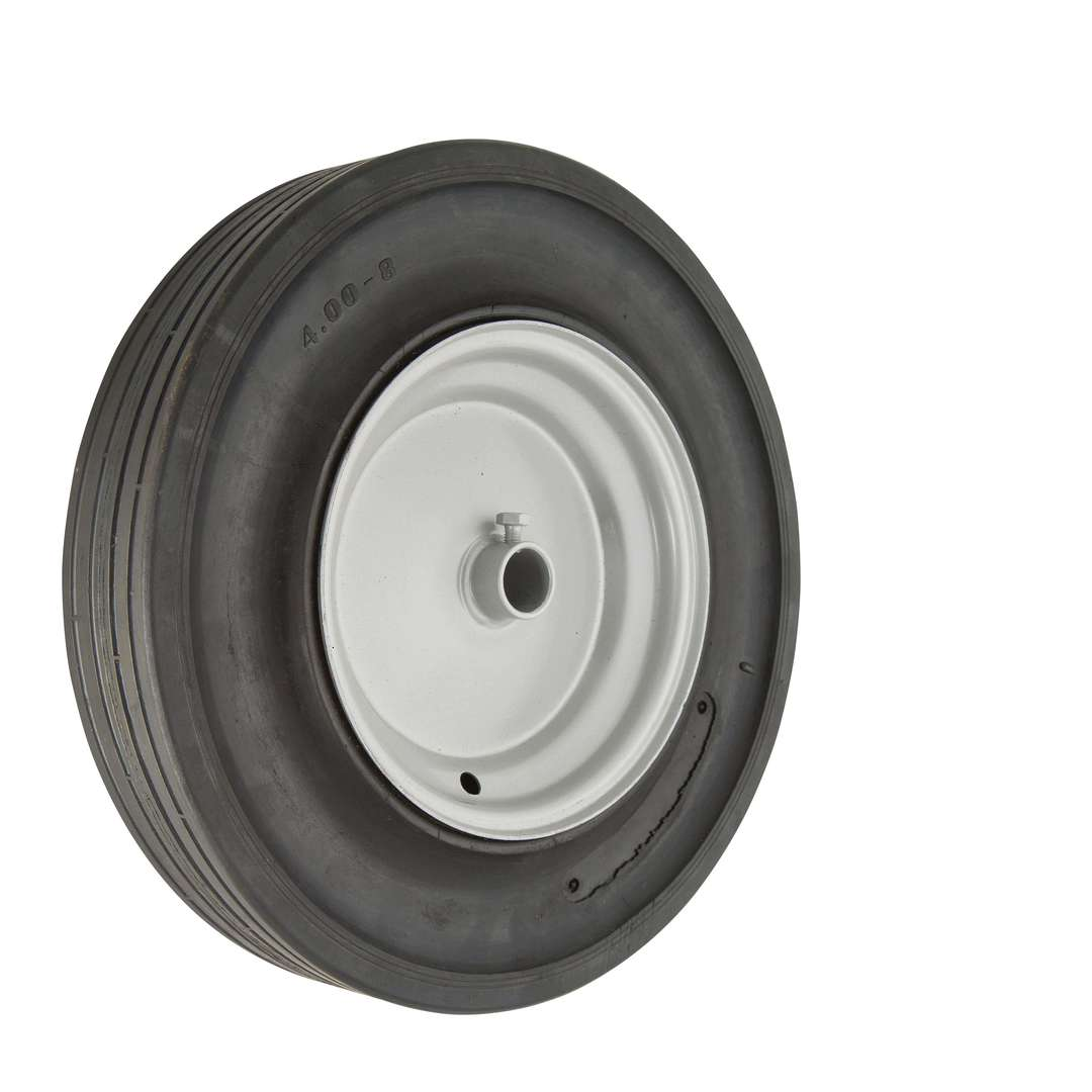 Solid Rubber Wheel 380mm - Plain Bore - WBSR4008 image 0