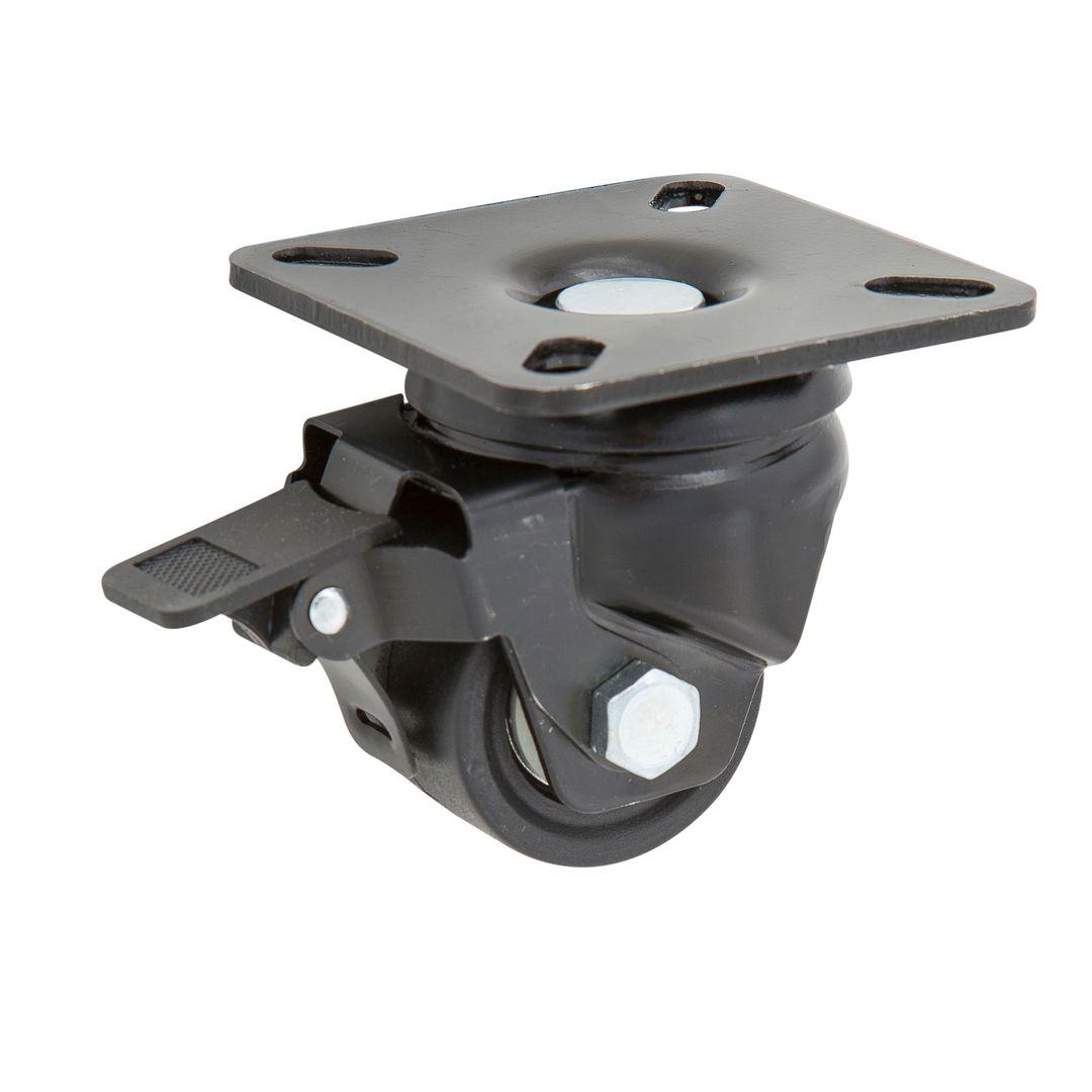Swivel & Brake 50mm Nylon Castor - Heavy Duty - MXN50/P-B image 0