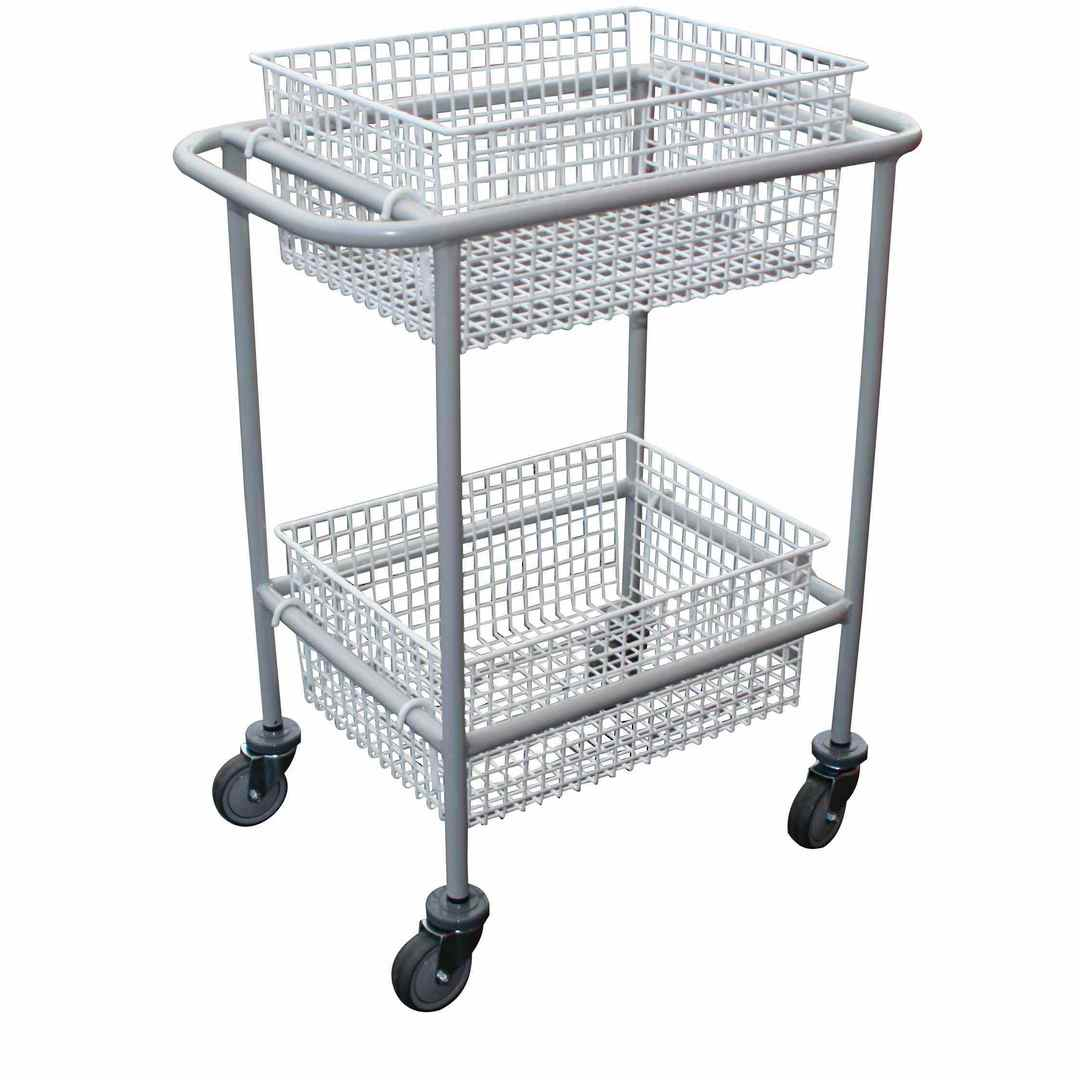 Wire Basket Trolley - BC47 image 0