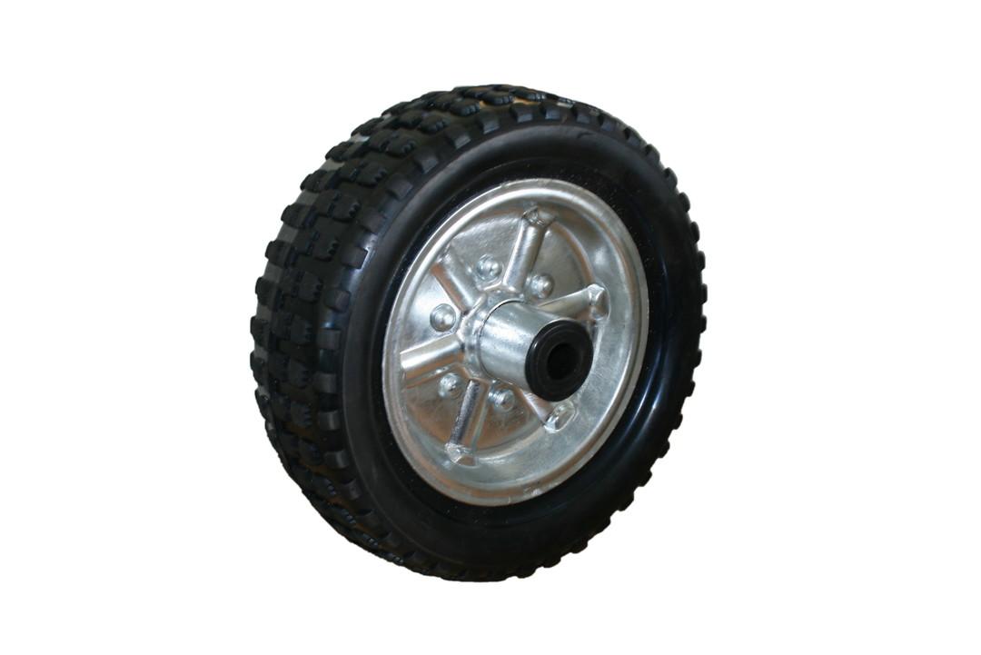 Solid Rubber Wheel 250mm - Steel Rim - JW250 image 0